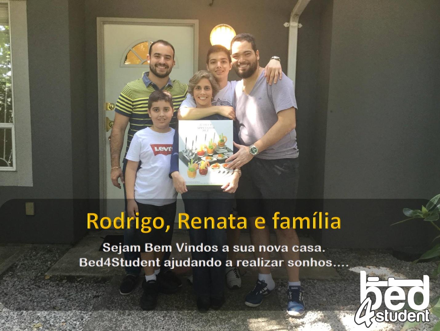 Rodrigo, Renata e familia