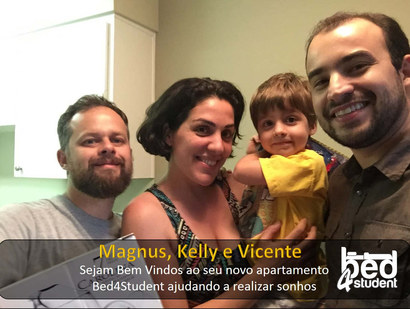 Magnus, kelly e Vicente