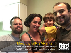 Magnus, kelly e Vicente