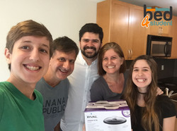Danilo, Lara, Victor e Mel