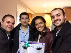 Marcos, Ivaldo e Ana Karine
