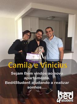 Camilla e Vinicius