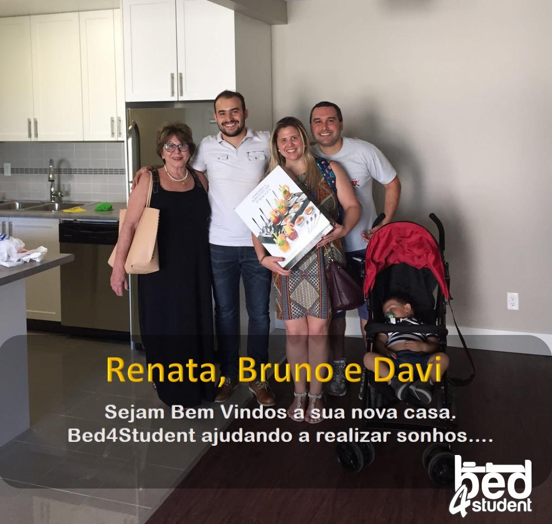Renata, Bruno e Davi