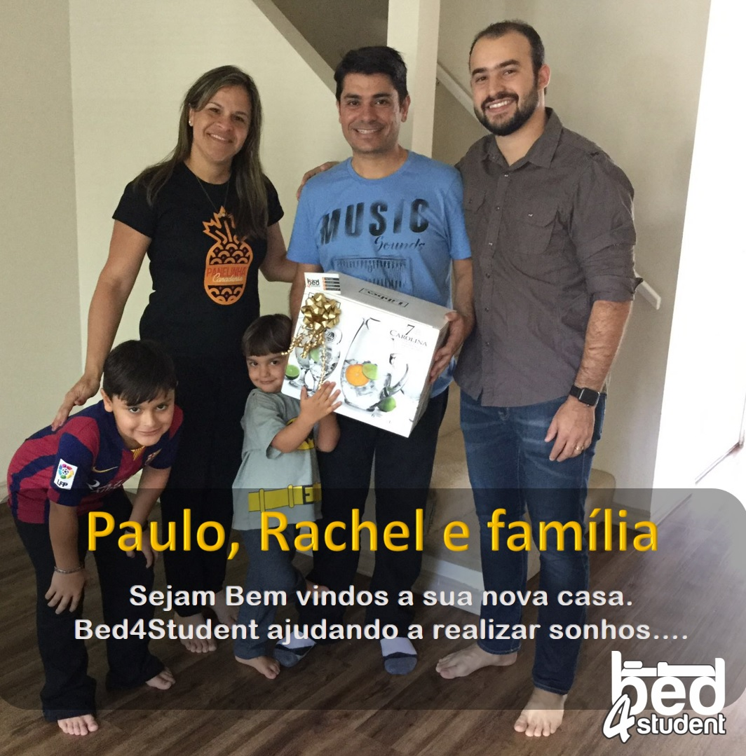 Paulo, Rachel e familia