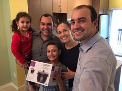 Luiz, Daniela, Enrico e Antonella