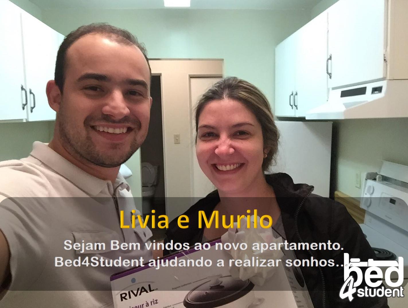Livia e Murilo