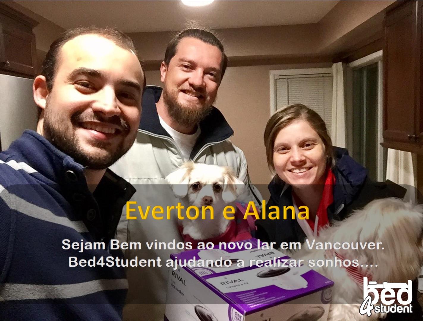 Everton e Alana