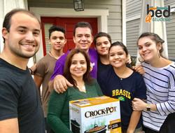 Paty, Pablo, Brendha, Bryan e Brendow