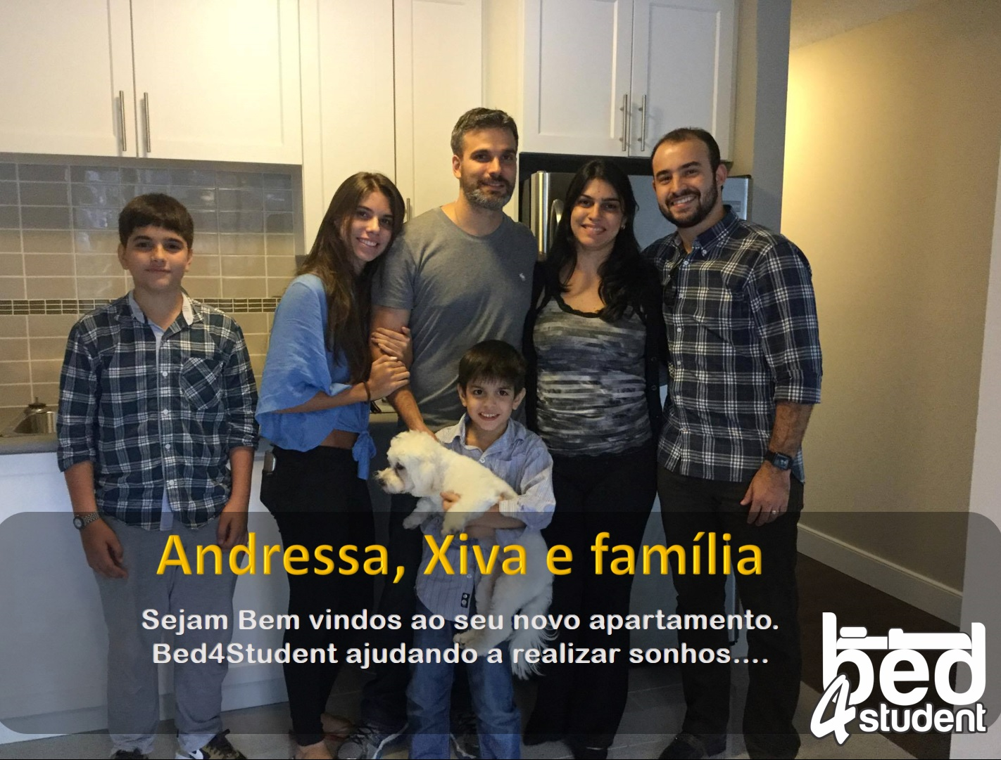 Andressa, Xiva e família