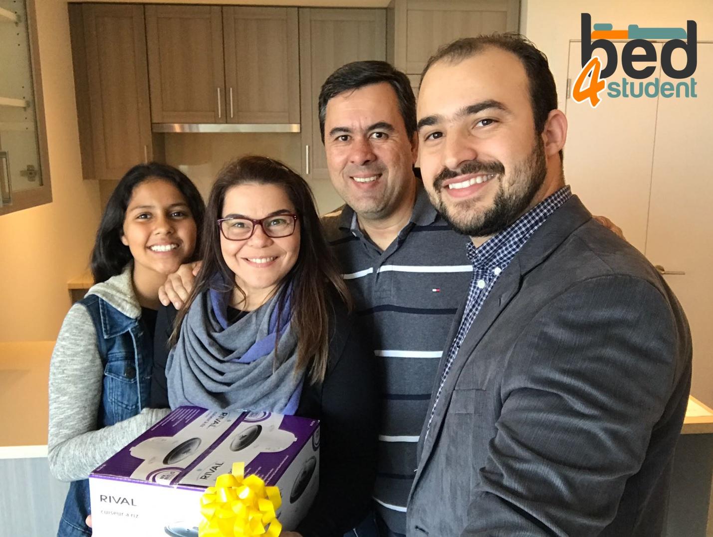 Fernando, Claudia e Mariana