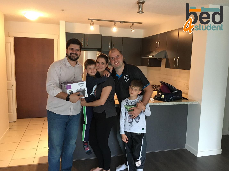 Juliana, Thiago, Lucas e Henrique