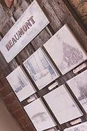 Exposition de photos de finissantes en photographie - Village de Beaumont - province de Québec