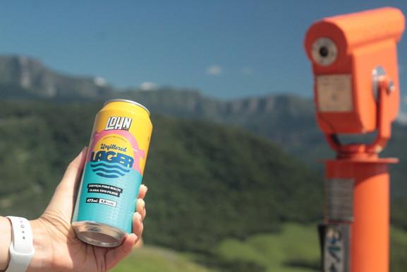 Lohn Bier lança a Unfiltered em lata, provando que pilsen pode ser especial