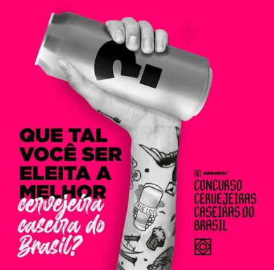 BIERINBOX lança o Concurso Cervejeiras Caseiras do Brasil