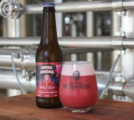Berggren lança cerveja que leva em sua composição polpa natural de amora