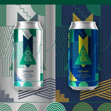Oca Cervejaria lança dois rótulos seguindo a linha de sua estreia no universo cervejeiro