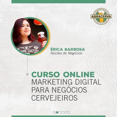 Marketing Digital para Negócios Cervejeiros: novidade na grade de cursos da Abracerva
