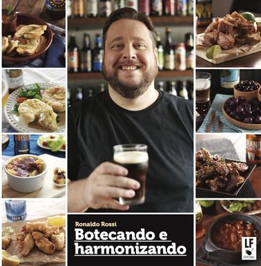Chef Ronaldo Rossi lança livro receitas de boteco e harmonizações com cervejas