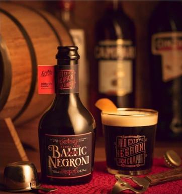 Cervejaria Avós lança nova safra da Baltic Negroni