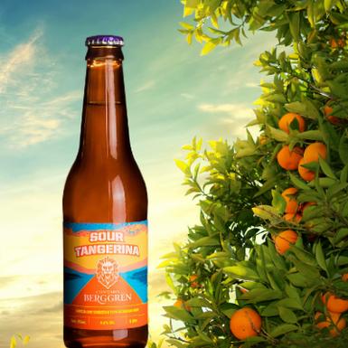 Cervejaria Berggren lança cerveja com tangerina para brindar chegada do verão