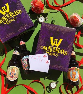 Wonderland Brewery tem kits personalizados para Dia dos Namorados