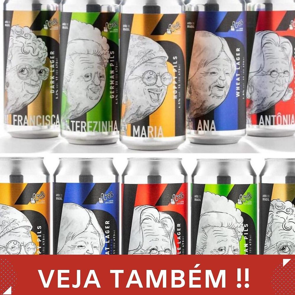 Cervejaria Avós lança série Avós do Brasil