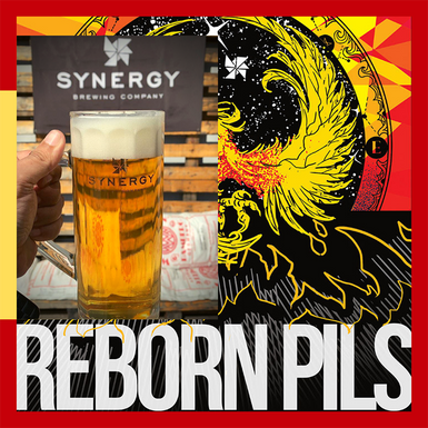 Synergy Reborn Pils é a terceira cerveja do estilo mais votado em app cervejeiro
