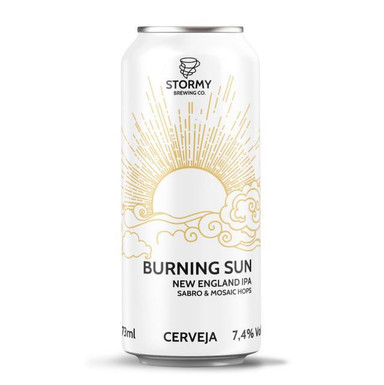 BURNING SUN a neipa da Stormy Brewing
