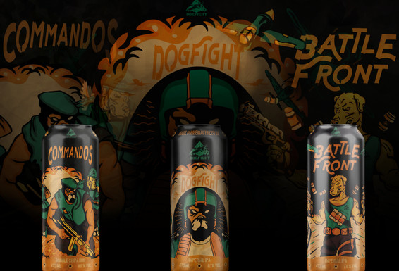 Dogfight encerra o ano com abastecimento triplo de Double IPAs