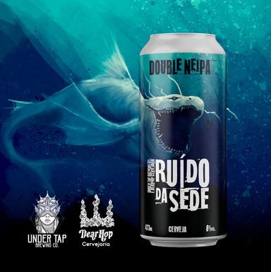 Ruído de Sede, a nova NEIPA da Undertap Brewing