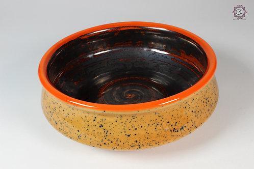 Ornate Culture Orange Trinket Bowl