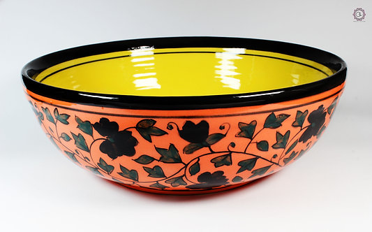 Ornate Culture Floral Fruit Bowl