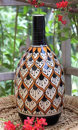 Ornate Culture Honeybee vases (bottle)