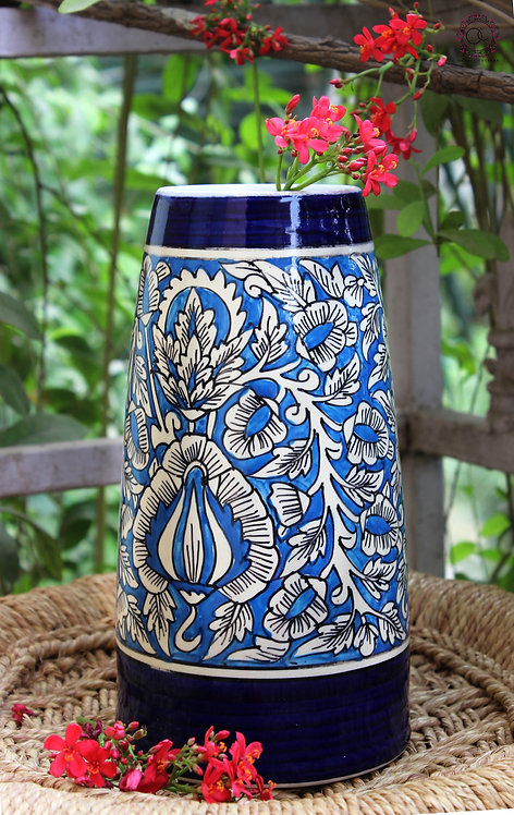 Ornate Culture Floral vase (small)