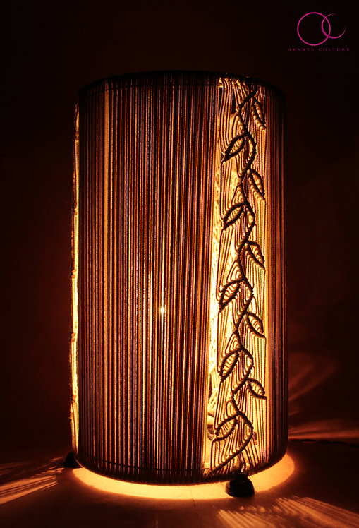 Leaf weave Lamp