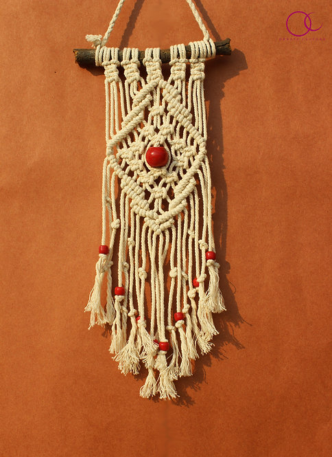 Red Bead Wall Hanging