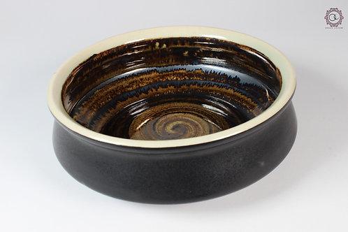 Ornate Culture Black Trinket Bowl