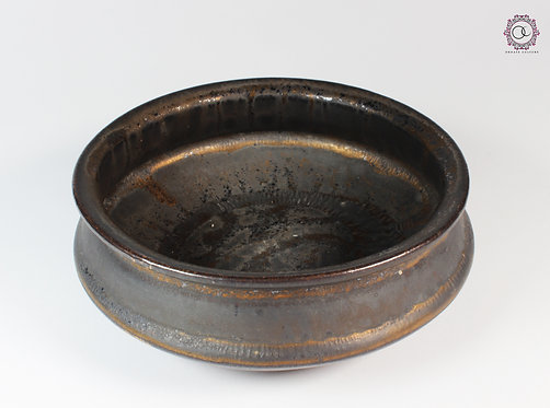 Ornate Culture Bronze Trinket Bowl