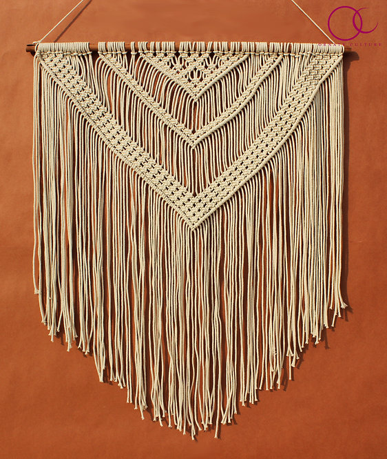 Triple Triangle Wall Hanging