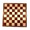 Thumbnail: Mahogany/Maple Chess Board