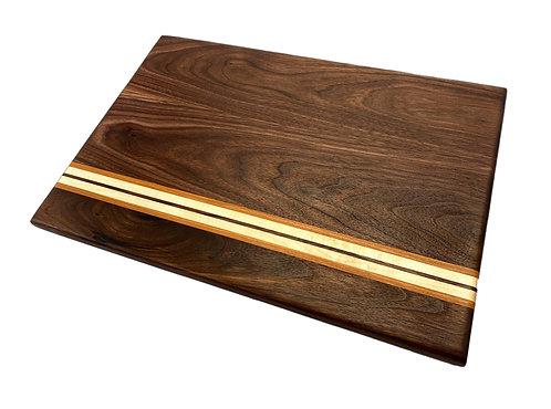 Walnut Striped Cutting Board