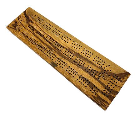 Marblewood Cribbage Board