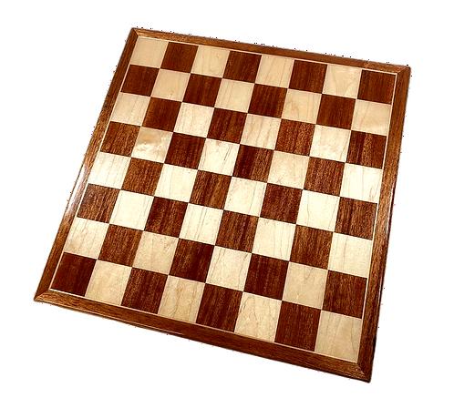 Mahogany/Maple Chess Board
