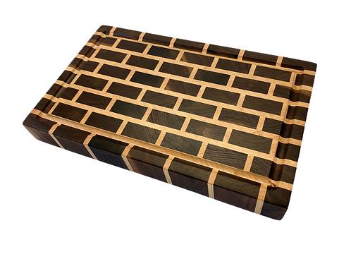 Small End Grain Brick Cutting Board