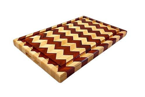 Exotic Chevron Cutting Board