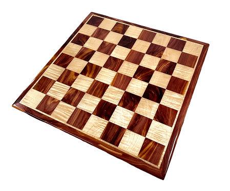 Red Cedar Chess Board