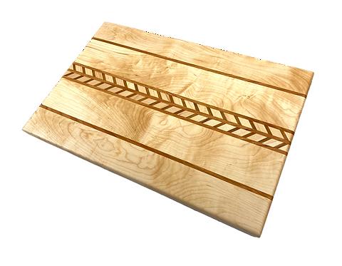 Maple Chevron Cutting Board