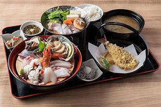 海鮮刺身定食