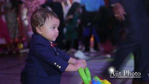Ayaan's first birthday