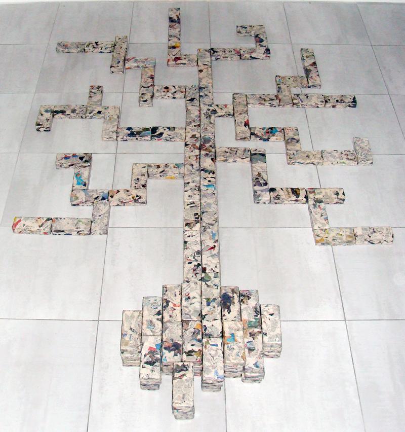 l'albero di mattoni - 2011-